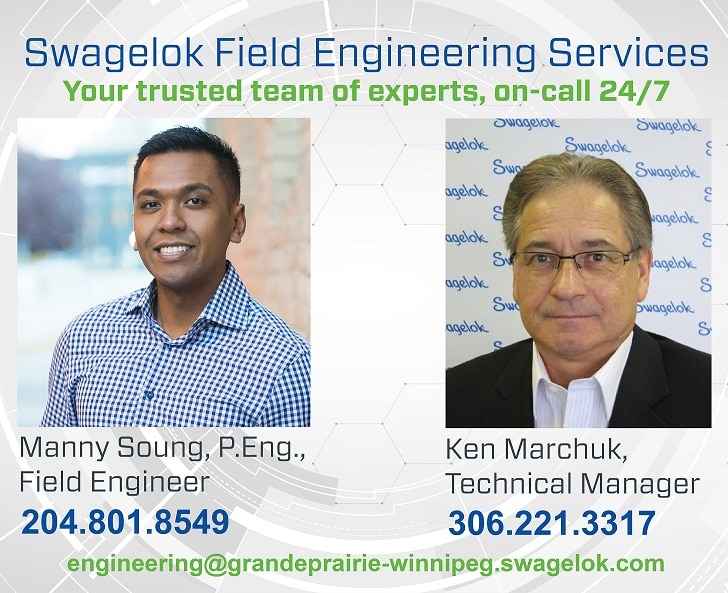 24/7 Swagelok Field Engineering Services